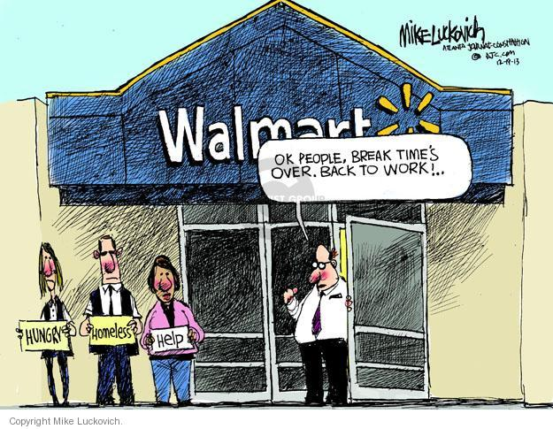 Mike Luckovich  Mike Luckovich's Editorial Cartoons 2013-12-19 worker
