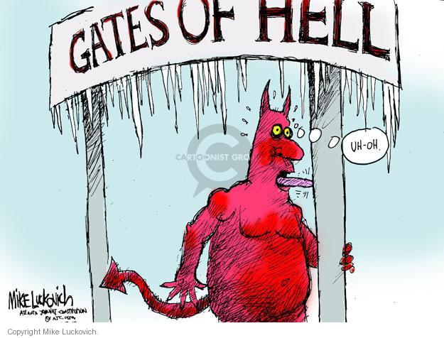 Gates of Hell. Uh-oh.