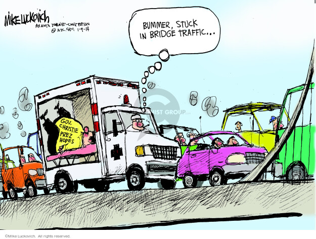 Mike Luckovich  Mike Luckovich's Editorial Cartoons 2014-01-09 republican politician