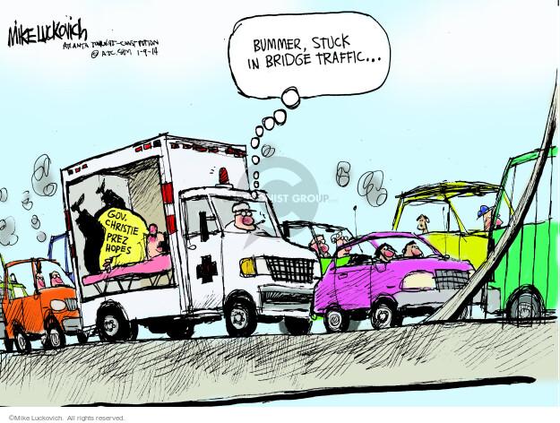 Cartoonist Mike Luckovich  Mike Luckovich's Editorial Cartoons 2014-01-09 Chris