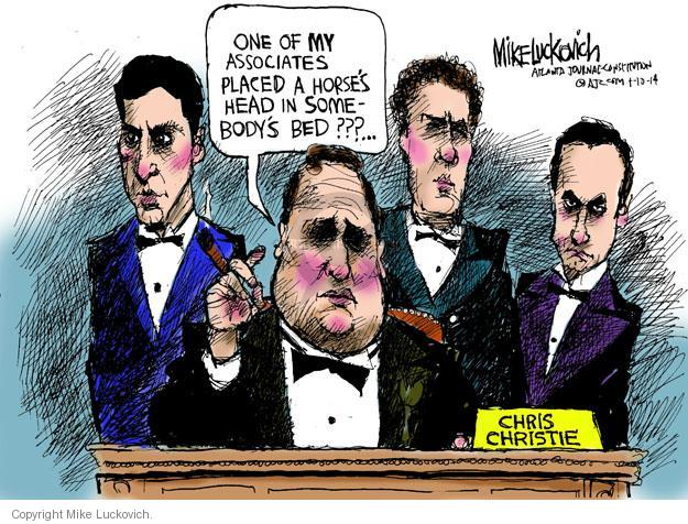 Cartoonist Mike Luckovich  Mike Luckovich's Editorial Cartoons 2014-01-10 affiliation