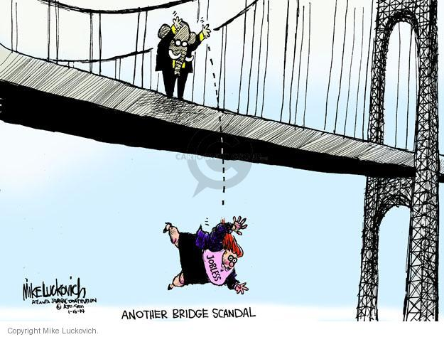 Cartoonist Mike Luckovich  Mike Luckovich's Editorial Cartoons 2014-01-16 unemployment benefit