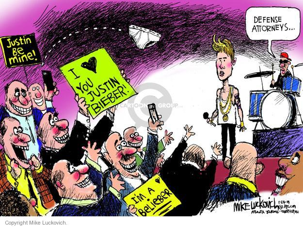 Mike Luckovich  Mike Luckovich's Editorial Cartoons 2014-01-24 lawyer