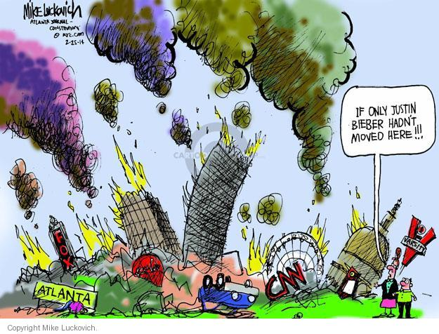 Cartoonist Mike Luckovich  Mike Luckovich's Editorial Cartoons 2014-02-25 culture