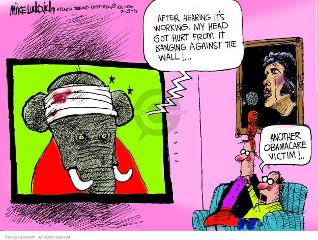 Cartoonist Mike Luckovich  Mike Luckovich's Editorial Cartoons 2014-02-28 head