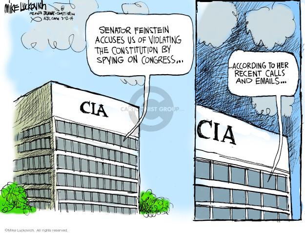 Cartoonist Mike Luckovich  Mike Luckovich's Editorial Cartoons 2014-03-12 violate
