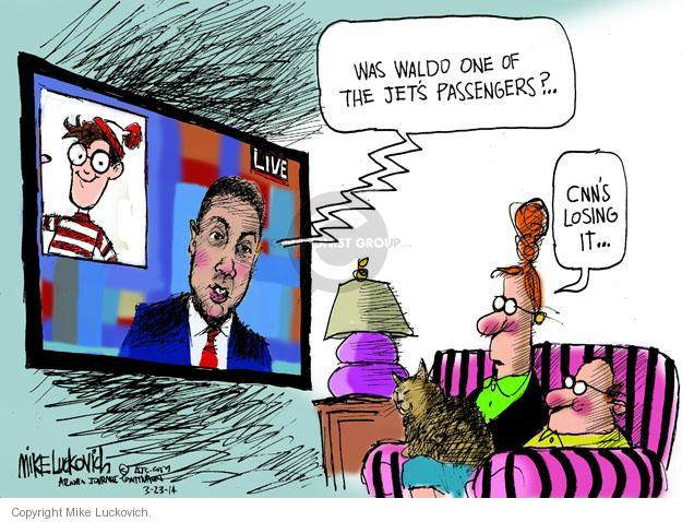 Mike Luckovich  Mike Luckovich's Editorial Cartoons 2014-03-23 cable television