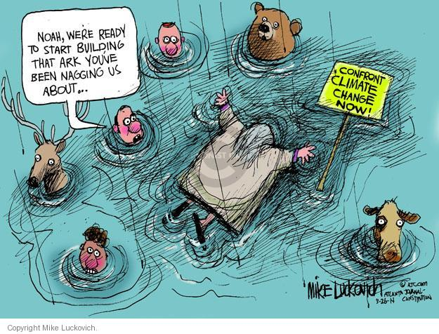 Mike Luckovich  Mike Luckovich's Editorial Cartoons 2014-03-26 environment