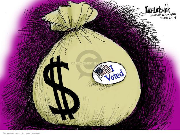 $. I voted.