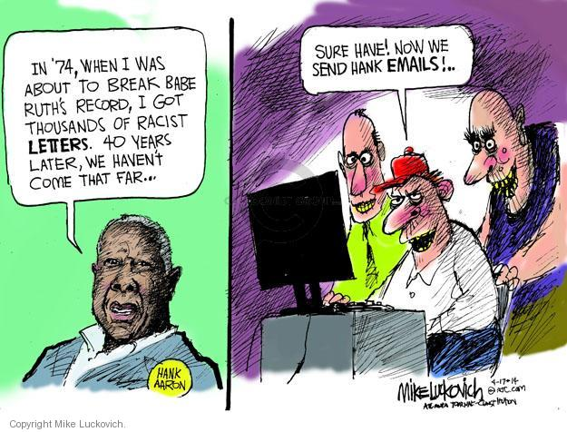 Mike Luckovich  Mike Luckovich's Editorial Cartoons 2014-04-17 racism