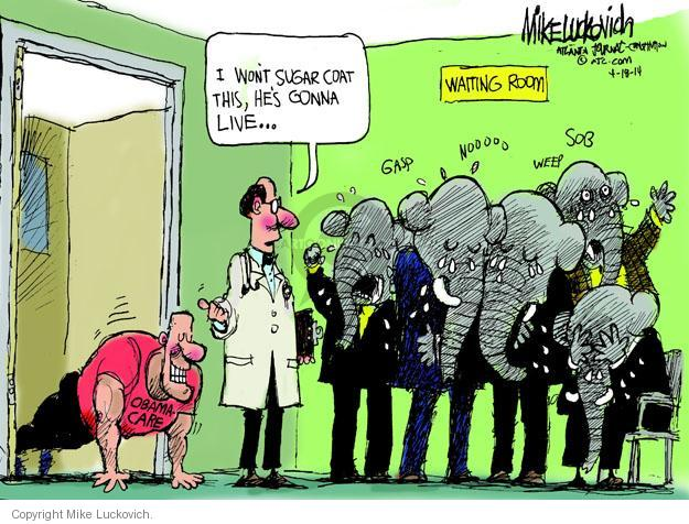 Mike Luckovich  Mike Luckovich's Editorial Cartoons 2014-04-18 gonna