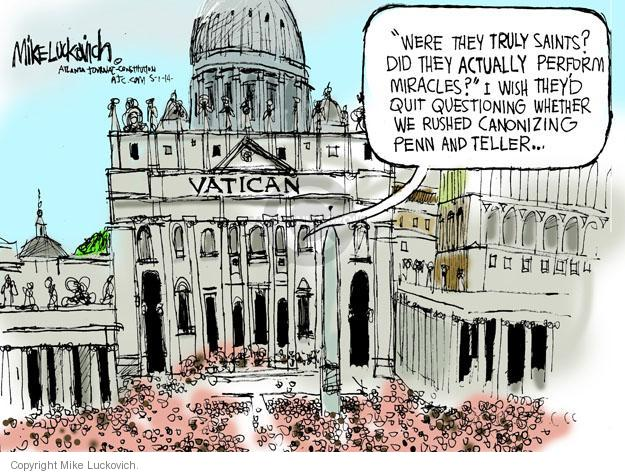 Mike Luckovich  Mike Luckovich's Editorial Cartoons 2014-05-01 illusion