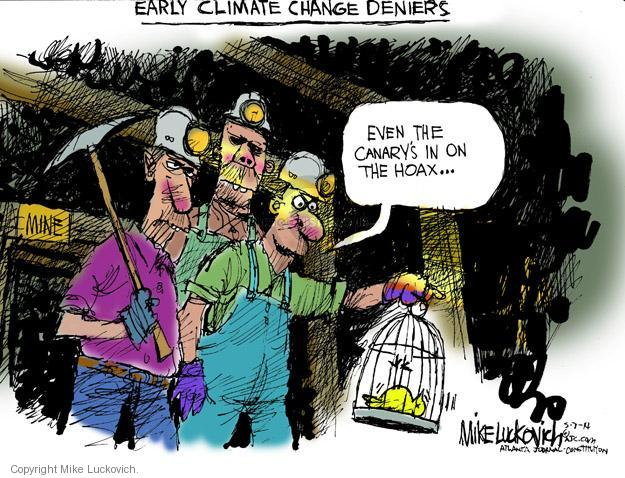 Mike Luckovich  Mike Luckovich's Editorial Cartoons 2014-05-07 even