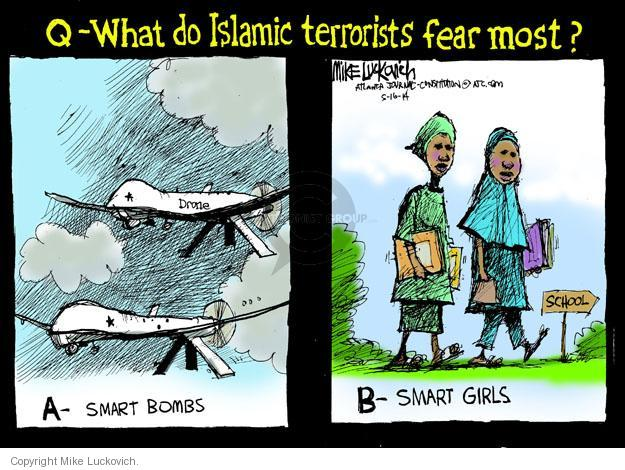 Mike Luckovich  Mike Luckovich's Editorial Cartoons 2014-05-16 female