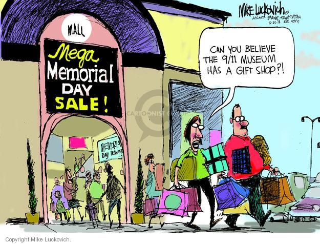 Cartoonist Mike Luckovich  Mike Luckovich's Editorial Cartoons 2014-05-25 September 11, 2001