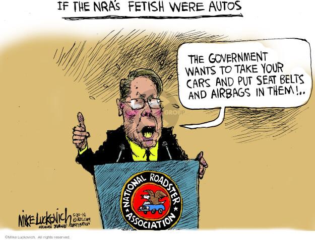 Mike Luckovich  Mike Luckovich's Editorial Cartoons 2014-05-30 regulation