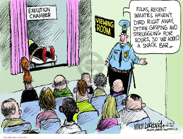 Cartoonist Mike Luckovich  Mike Luckovich's Editorial Cartoons 2014-07-25 sentence