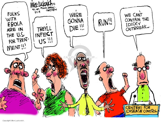 Mike Luckovich  Mike Luckovich's Editorial Cartoons 2014-08-05 gonna