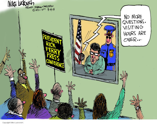 Cartoonist Mike Luckovich  Mike Luckovich's Editorial Cartoons 2014-08-19 legal