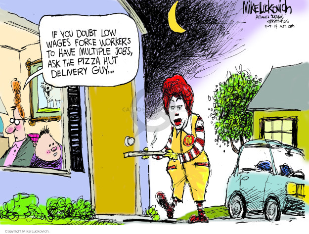 Cartoonist Mike Luckovich  Mike Luckovich's Editorial Cartoons 2014-09-07 Ronald