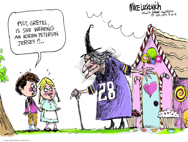 Mike Luckovich  Mike Luckovich's Editorial Cartoons 2014-09-17 brother