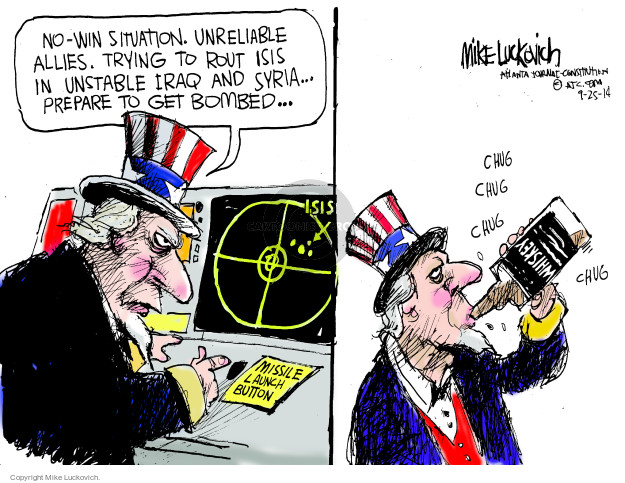 Mike Luckovich  Mike Luckovich's Editorial Cartoons 2014-09-25 alcohol