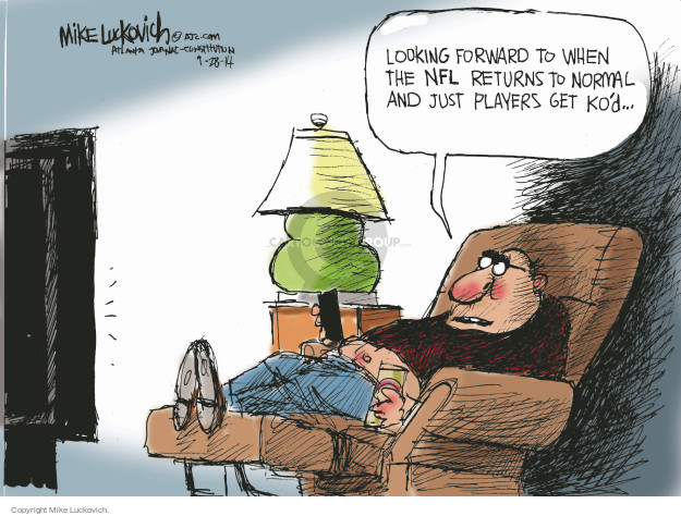 Mike Luckovich  Mike Luckovich's Editorial Cartoons 2014-09-28 NFL