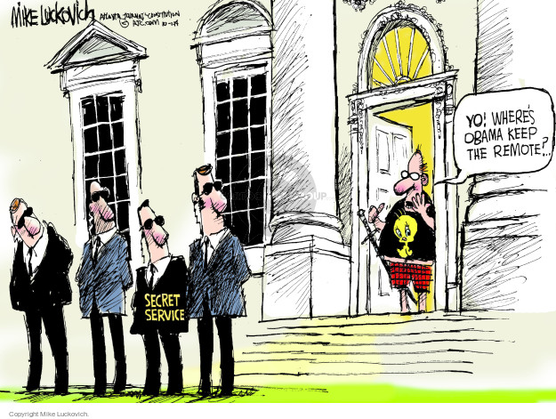 Mike Luckovich  Mike Luckovich's Editorial Cartoons 2014-10-01 security