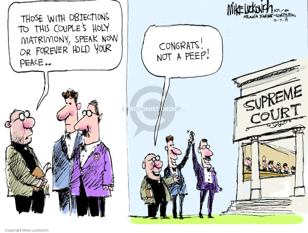 Cartoonist Mike Luckovich  Mike Luckovich's Editorial Cartoons 2014-10-07 legal