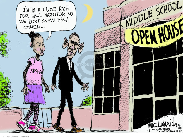 Cartoonist Mike Luckovich  Mike Luckovich's Editorial Cartoons 2014-10-10 2014 election