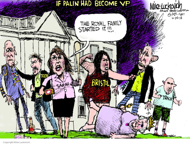 Cartoonist Mike Luckovich  Mike Luckovich's Editorial Cartoons 2014-10-24 blame