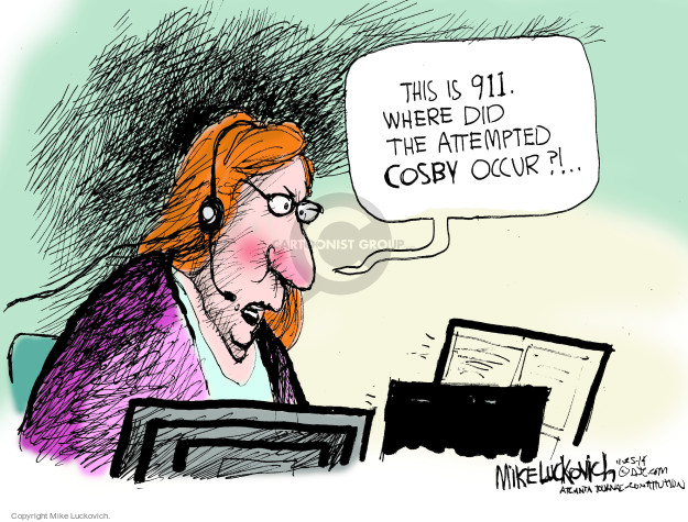 Mike Luckovich  Mike Luckovich's Editorial Cartoons 2014-11-25 comedian