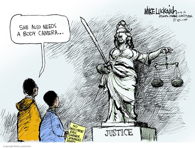 Cartoonist Mike Luckovich  Mike Luckovich's Editorial Cartoons 2014-12-04 legal