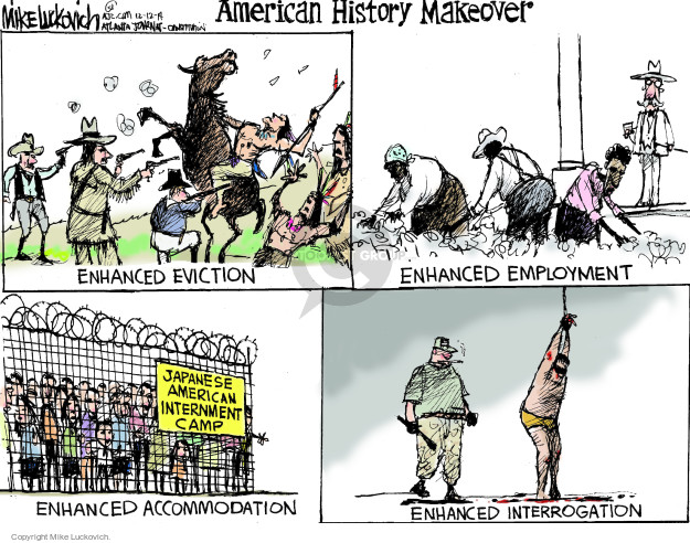 Mike Luckovich  Mike Luckovich's Editorial Cartoons 2014-12-12 World History