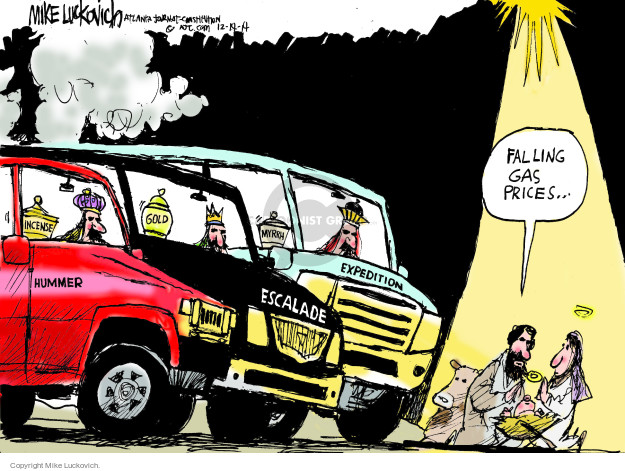 Mike Luckovich  Mike Luckovich's Editorial Cartoons 2014-12-14 scene