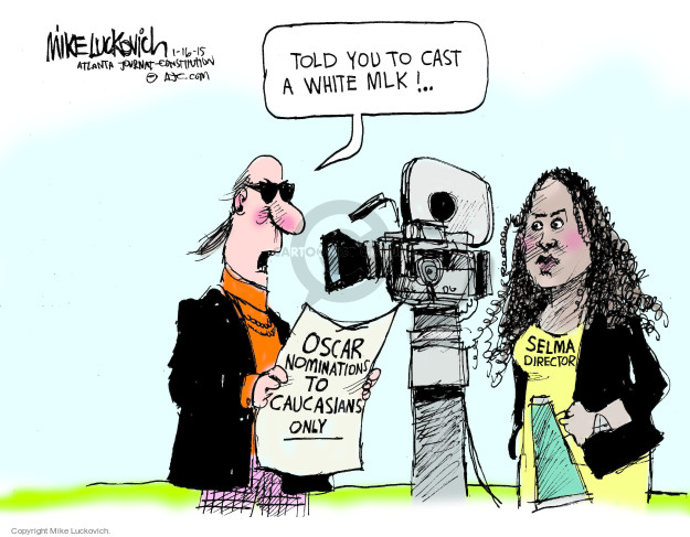 Cartoonist Mike Luckovich  Mike Luckovich's Editorial Cartoons 2015-01-16 Martin Luther King Jr.
