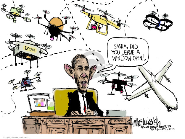 Mike Luckovich  Mike Luckovich's Editorial Cartoons 2015-01-27 president