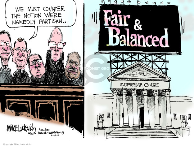 Mike Luckovich  Mike Luckovich's Editorial Cartoons 2015-02-15 branch