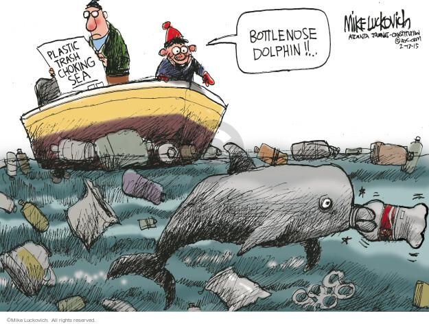 Cartoonist Mike Luckovich  Mike Luckovich's Editorial Cartoons 2015-02-17 animal