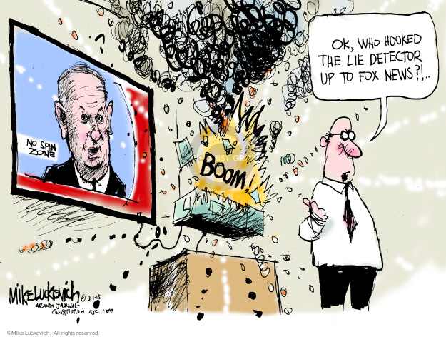 Cartoonist Mike Luckovich  Mike Luckovich's Editorial Cartoons 2015-03-01 commentator