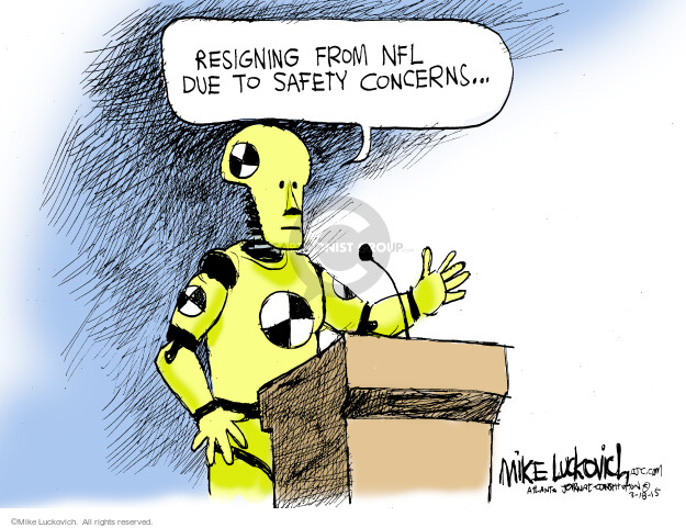 Mike Luckovich  Mike Luckovich's Editorial Cartoons 2015-03-18 NFL