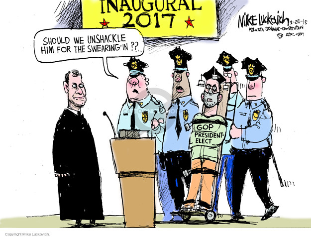 Mike Luckovich  Mike Luckovich's Editorial Cartoons 2015-03-24 president