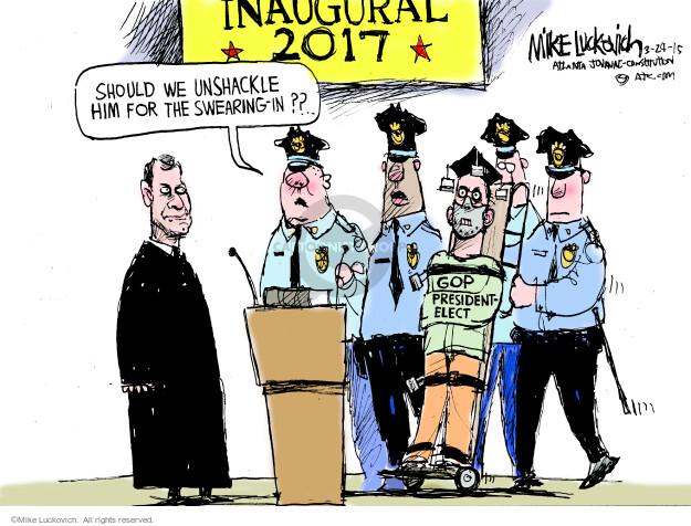 Cartoonist Mike Luckovich  Mike Luckovich's Editorial Cartoons 2015-03-24 John Roberts