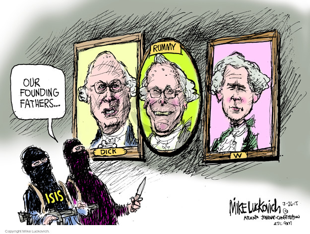 Mike Luckovich  Mike Luckovich's Editorial Cartoons 2015-03-27 president