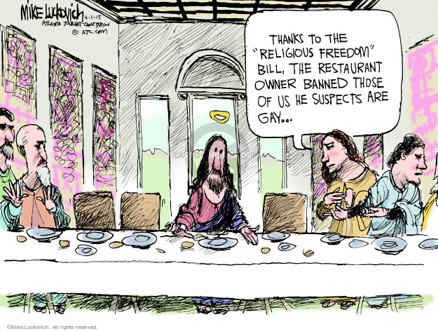 Mike Luckovich  Mike Luckovich's Editorial Cartoons 2015-04-01 inequality