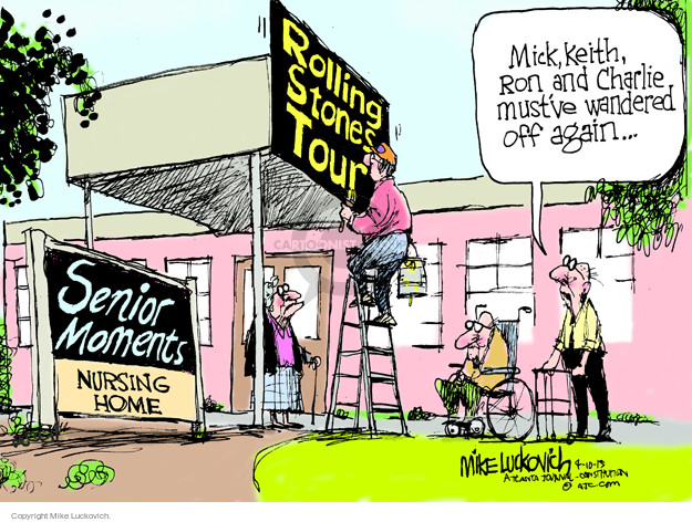 Mike Luckovich  Mike Luckovich's Editorial Cartoons 2015-04-10 Mick