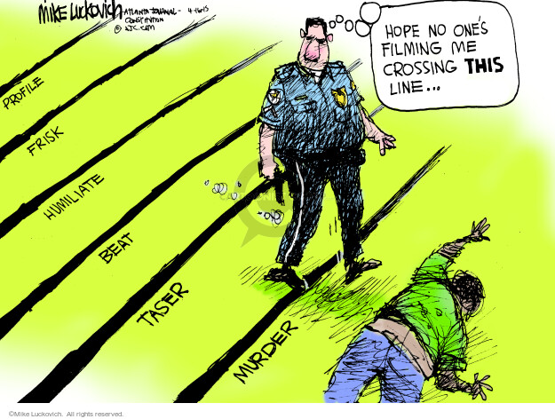 Cartoonist Mike Luckovich  Mike Luckovich's Editorial Cartoons 2015-04-17 video