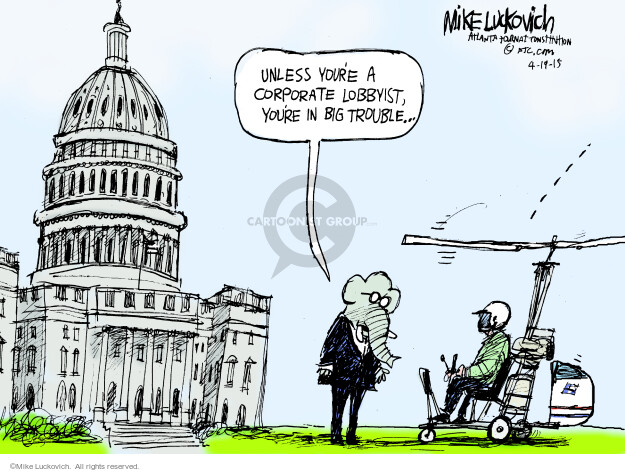 Mike Luckovich  Mike Luckovich's Editorial Cartoons 2015-04-19 access