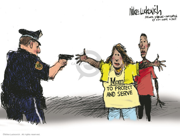 Mike Luckovich  Mike Luckovich's Editorial Cartoons 2015-04-30 mom