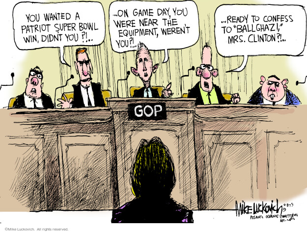 Cartoonist Mike Luckovich  Mike Luckovich's Editorial Cartoons 2015-05-08 blame
